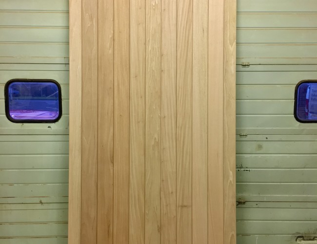 9ft Idigbo Door Outside