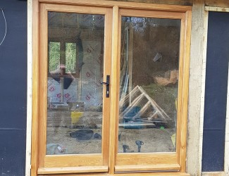 Oak Door Pair