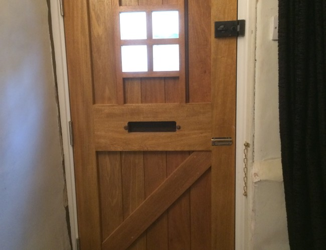 Cottage Door Inside